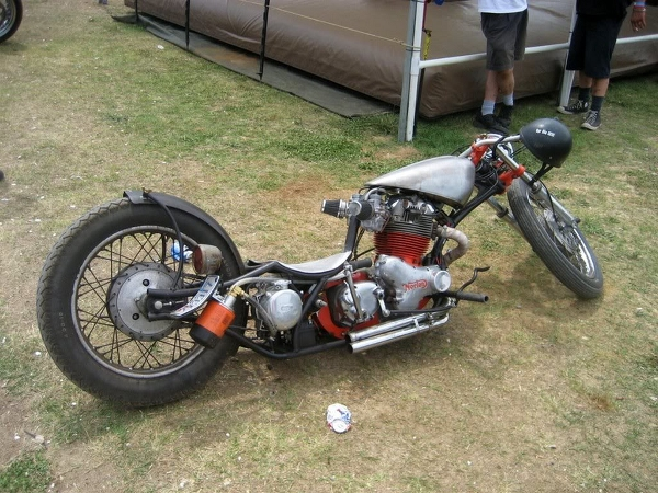 Ugly chopper.