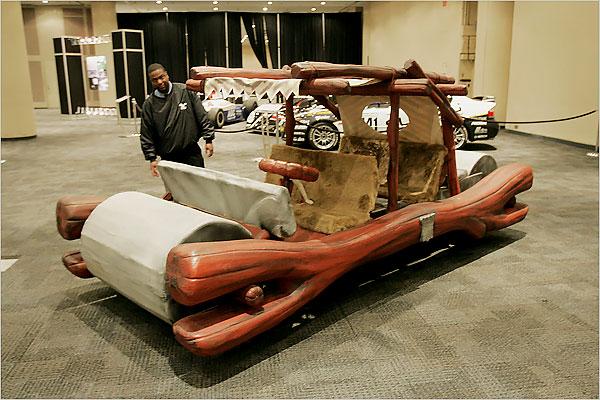 Flintstone car
