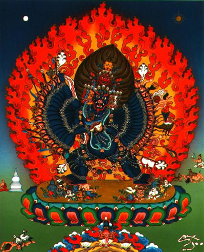 Yamantaka of Tibetan Buddhism.