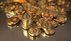 Pile of Bitcoin.