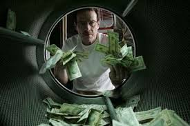 Money laundering.