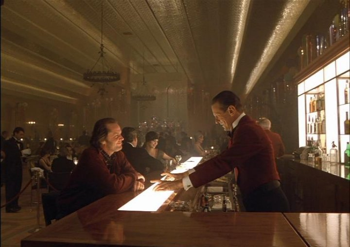 Bar scene from The Shining.