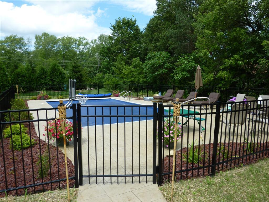 Closed pool.