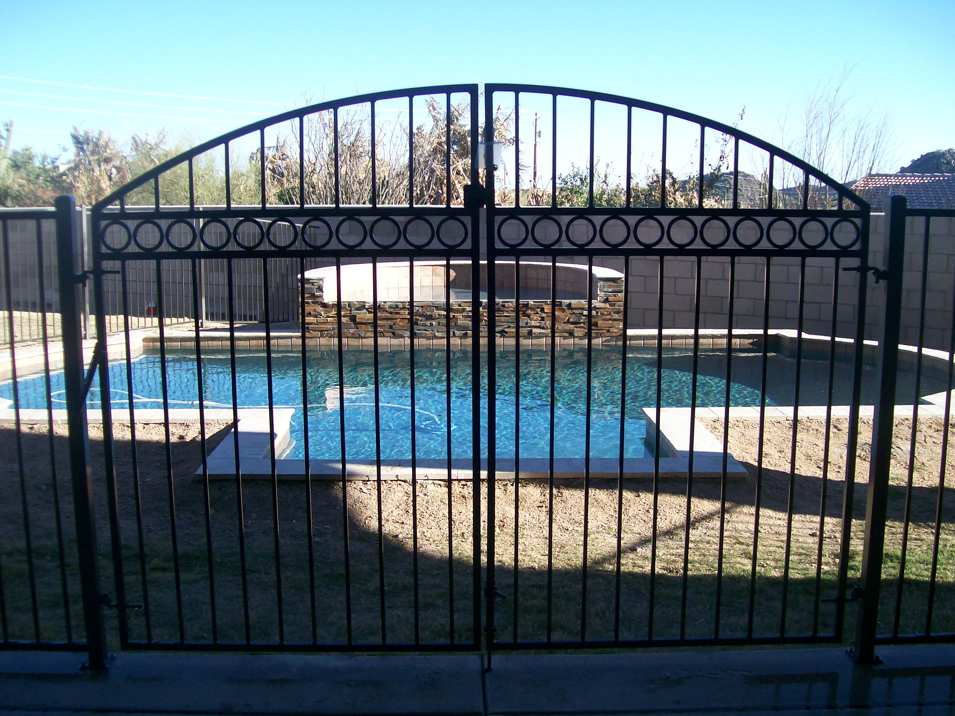 Closed pool.