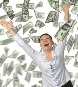 It's raining cash.